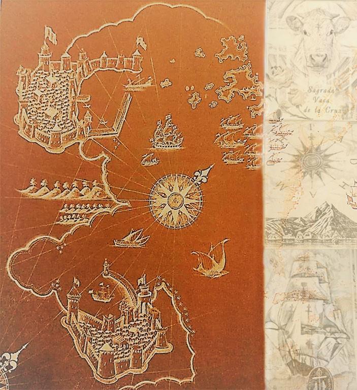 Карта Тамплиеров